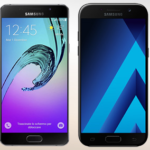 Compare Cell Phones Samsung A5 2016 & 2017