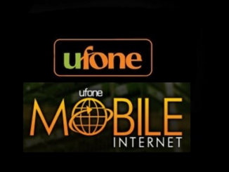 Ufone Internet packages 2018