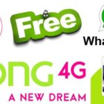 Zong 4G Free Unlimited Whatsapp Offer 2018-2019